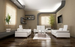 modern interior design ( 3D rendering )